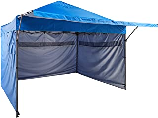 AmazonBasics - Carpa pop-up con paredes laterales- 3 x 3 m- azul