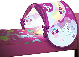 Direct TV Outlet Sleepfun Tent Original Visto en TV Tienda de campana para la habitacion Carpa Infantil Plegable y con Luz Juguete para ninos (Color Rosa)