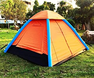 HGCLONGCHENG Carpa Inflable Carpa Hinchable Integrado es portatil y facil de Aceptar sin Construir de moldeo automatico-Blue Patchwork
