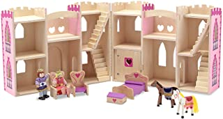 Melissa & Doug 13708 - Castillo de Princesa Plegable y portatil