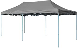 vidaXL Carpa Plegable Pop-up 3x6 m Antracita Exterior Terraza Jardin Porche