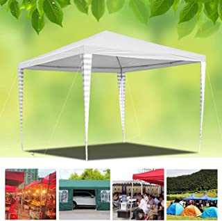 wolketon 3x3m Carpas Pabellon Estable Carpa para Fiesta toldo Impermeables Gazebo Estable facil de desplegar Costuras Selladas de PE